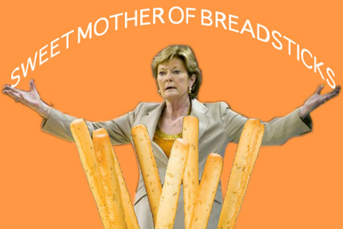 And there was much rejoicing throughout Breadstick Land.