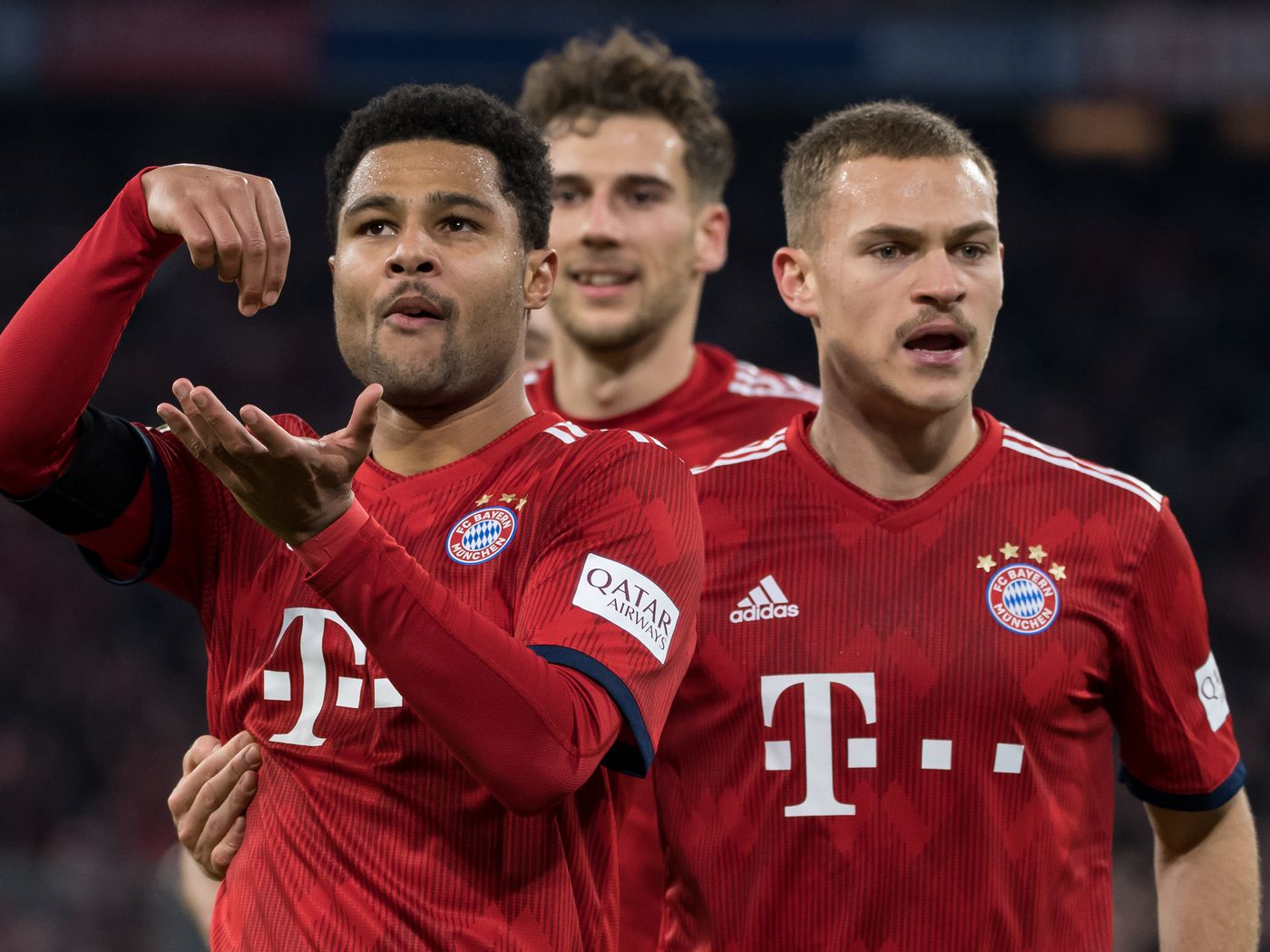 Bayern Munich's Serge Gnabry understands just how good and valuable Joshua Kimmich is to Germany - Bavarian Football Works
