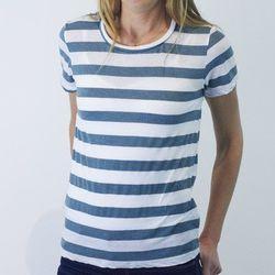 "Women's striped crew neck, <a href=""http://www.marinelayer.com/shop/womens/women-s-striped-crewneck-1.html"">$39</a>"