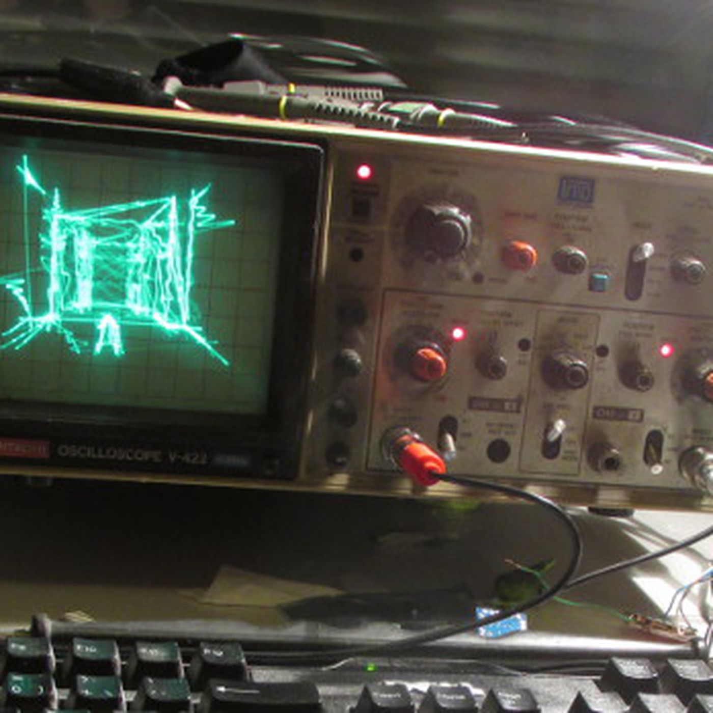 Quake running on an oscilloscope is the ultimate demake - The Verge