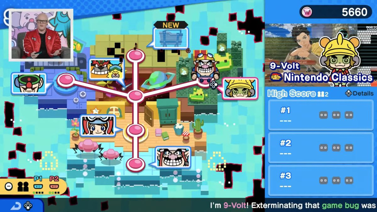 warioware fire WarioWare: Get It Together for Nintendo Switch microgames detailed