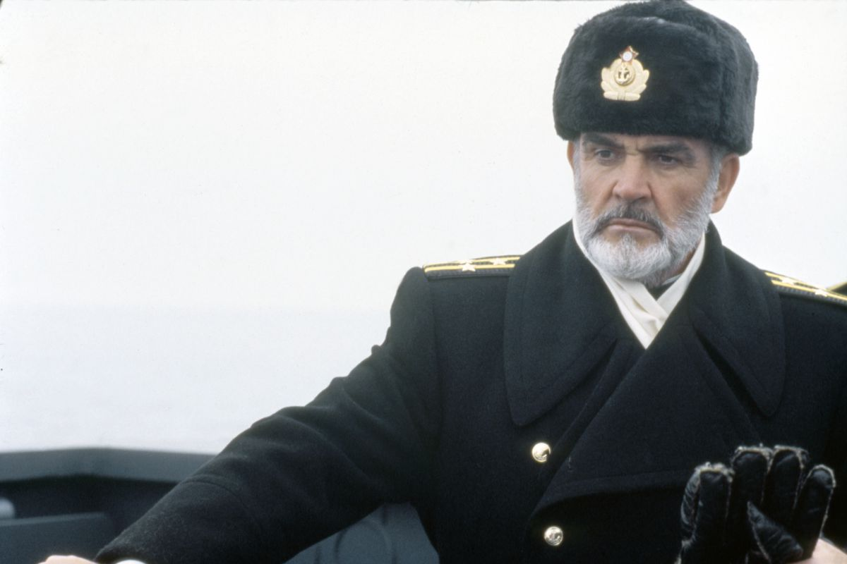 On the set of The Hunt of Red October