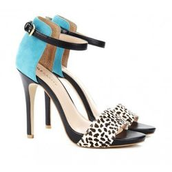 """Sole Society <a href=""""http://www.solesociety.com/new-arrivals/sheila-snow-bermuda-blue.html"""">Sheila open-toe heel</a>: """"No need to worry about clashing with these bad boys. My entire wardrobe is either black, white, or grey."""""""