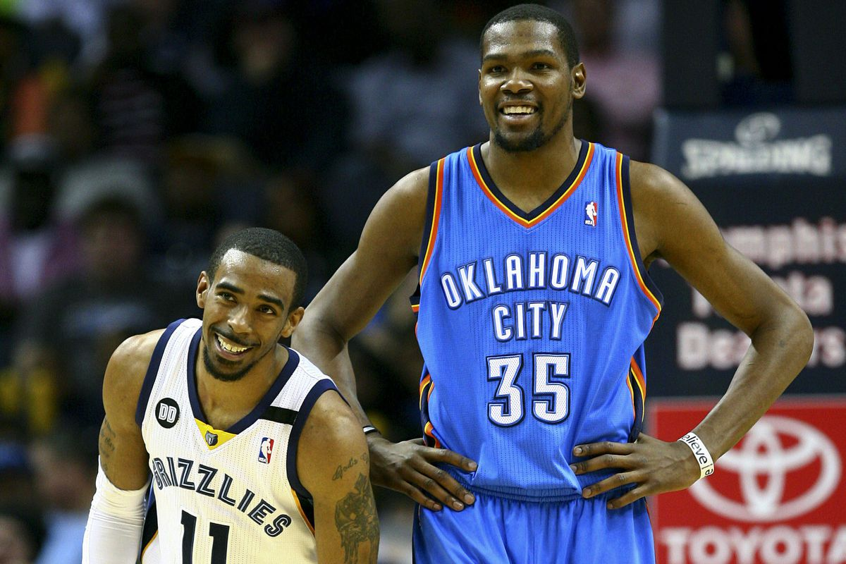 Conley and Durant are key pieces to their teams' past and future success.