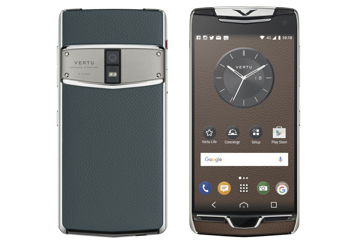 Vertu Made Another Phone For The Rich And Tasteless The
