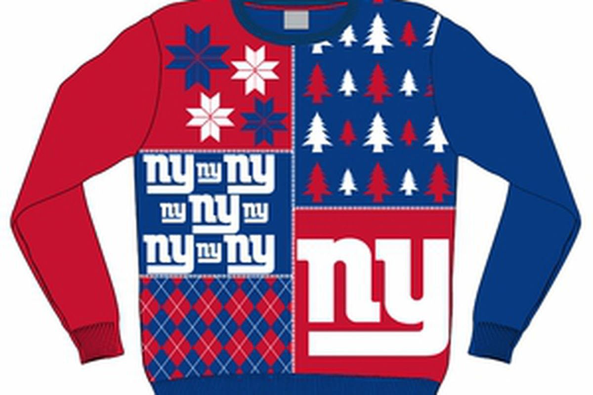 Get Your New York Giants Ugly Sweater! - Big Blue View