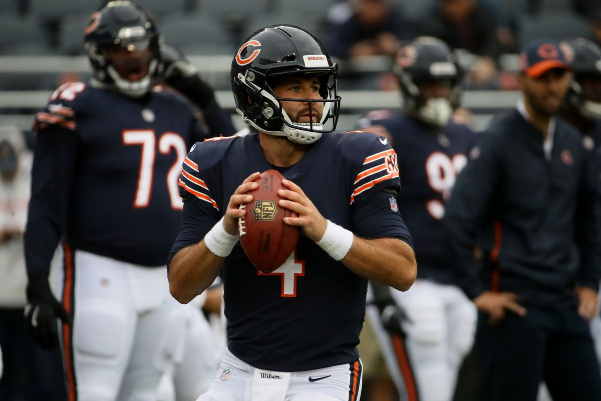 900f2484a Bears injury report  Chase Daniel likely to start for Bears on Thanksgiving
