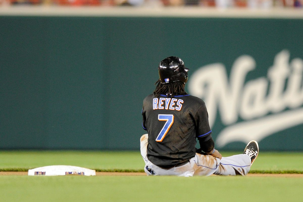 New York Mets SS Jose Reyes will involved in trade rumors right up to the July 31st deadline. (Photo by Greg Fiume/Getty Images)