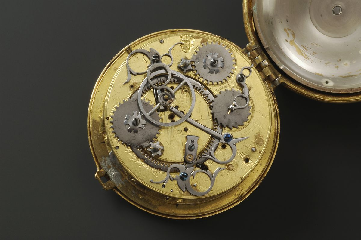 The interior of a watch illustrates how complications typically work. (DEA/G. Cigolini/Getty Images)