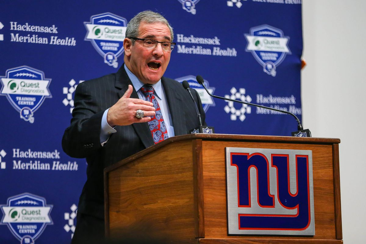 NFL: New York Giants-GM Dave Gettleman Press Conference