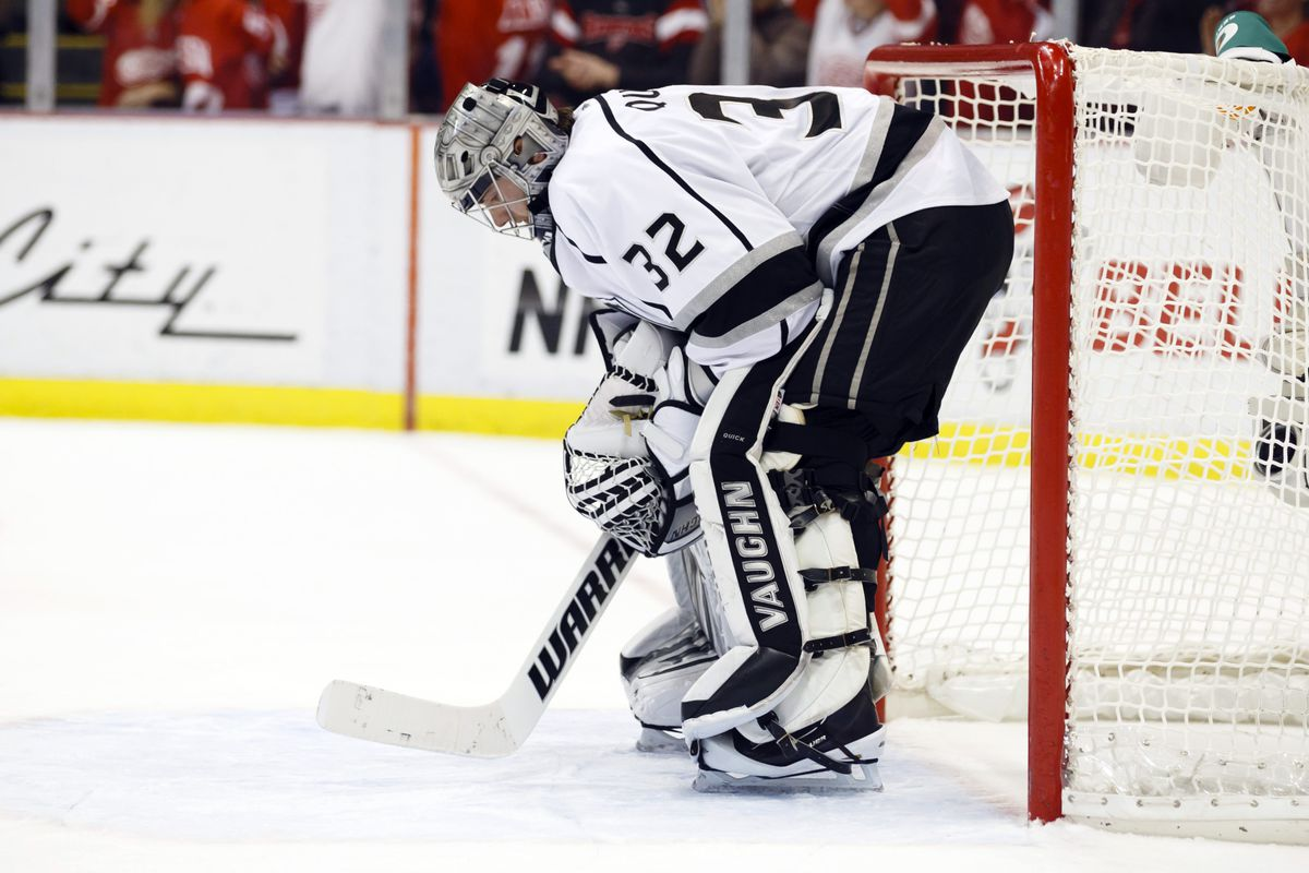 Jonathan Quick was very good tonight. That is, until the 19:55 mark of the third period.