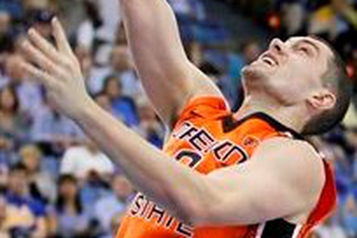 Kevin McShane, Oregon St.'s walk-on Captain is a walk-on no more.