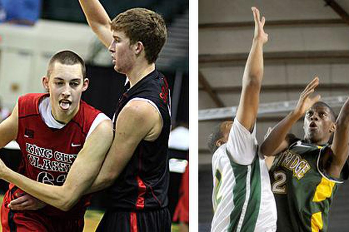 Kyle Wiltjer (left) and Gary Bell Jr. should be the answer for the class of 2011.
