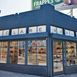 """Continue your leisurely Sunset walk with a stop at Clare Vivier's Silver Lake <a href=""""http://la.racked.com/archives/2012/06/28/colorful_bags_litter_clare_viviers_airy_silver_lake_flagship.php""""target=""""_blank"""">flagship</a> (3339 W Sunset Blvd), where the d"""