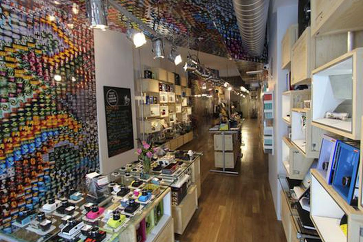 """The Lomography store in New York, via <a href=""""http://microsites.lomography.com/stores/gallery-stores/nyc-gramercy"""">Lomography</a>"""