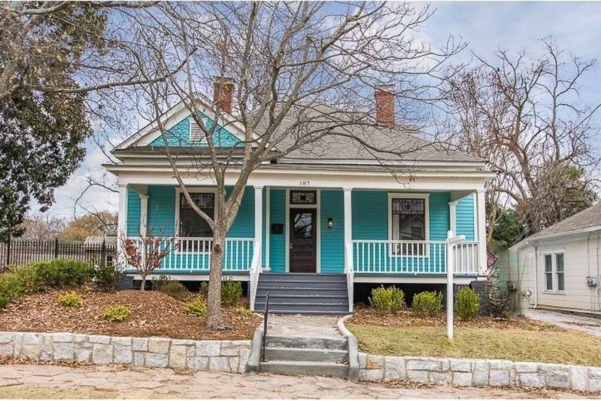 A renovated home in Inman Park, Atlanta.