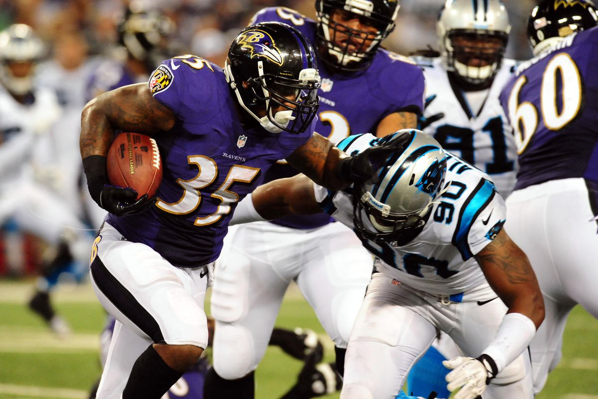 Anthony Allen is one of many players that will find out if he's on the Ravens or not in the next two days.