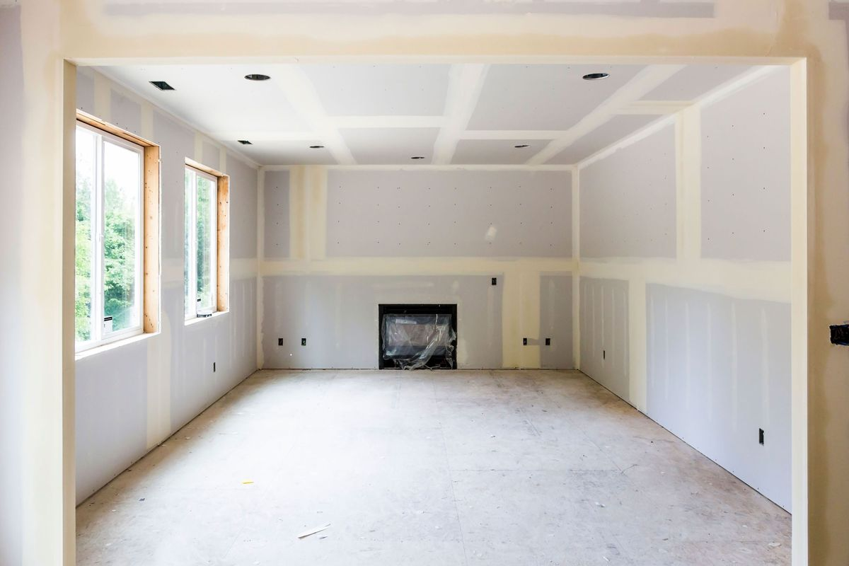 Drywall walls