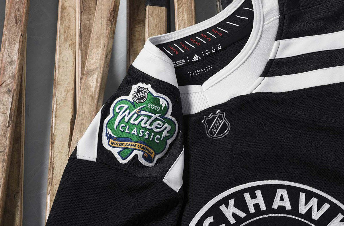 pretty nice a272a aa8aa Blackhawks reveal 2019 Winter Classic jerseys - Second City ...