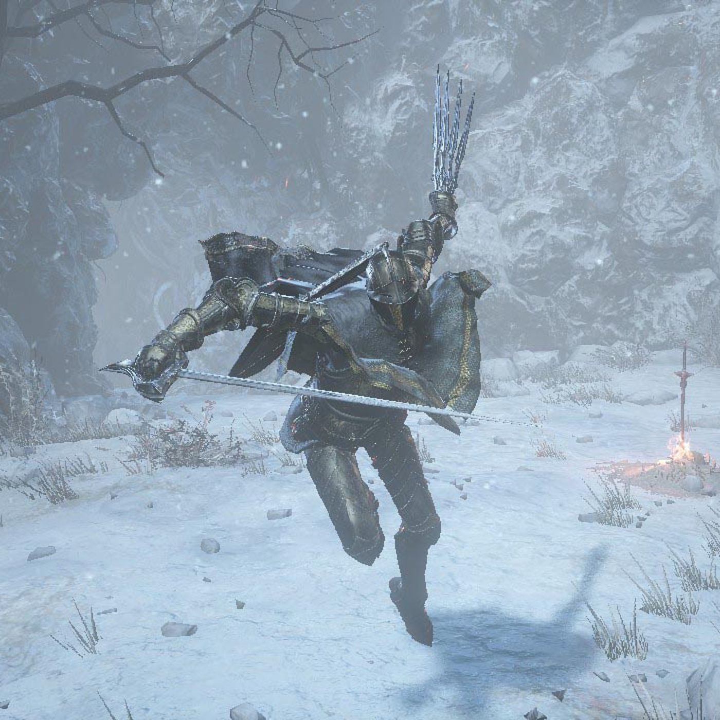 Dark Souls 3 Ashes Of Ariandel S New Weapons Polygon