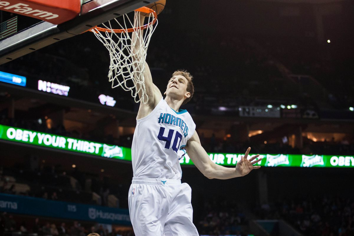 Charlotte's first basket of the night was this dunk from Cody Zeller, and it helped set the tone for the entire evening.