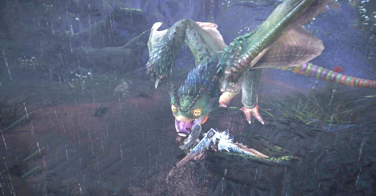 Monster hunter world guide how to beat the pukei pukei for Decoration list monster hunter world