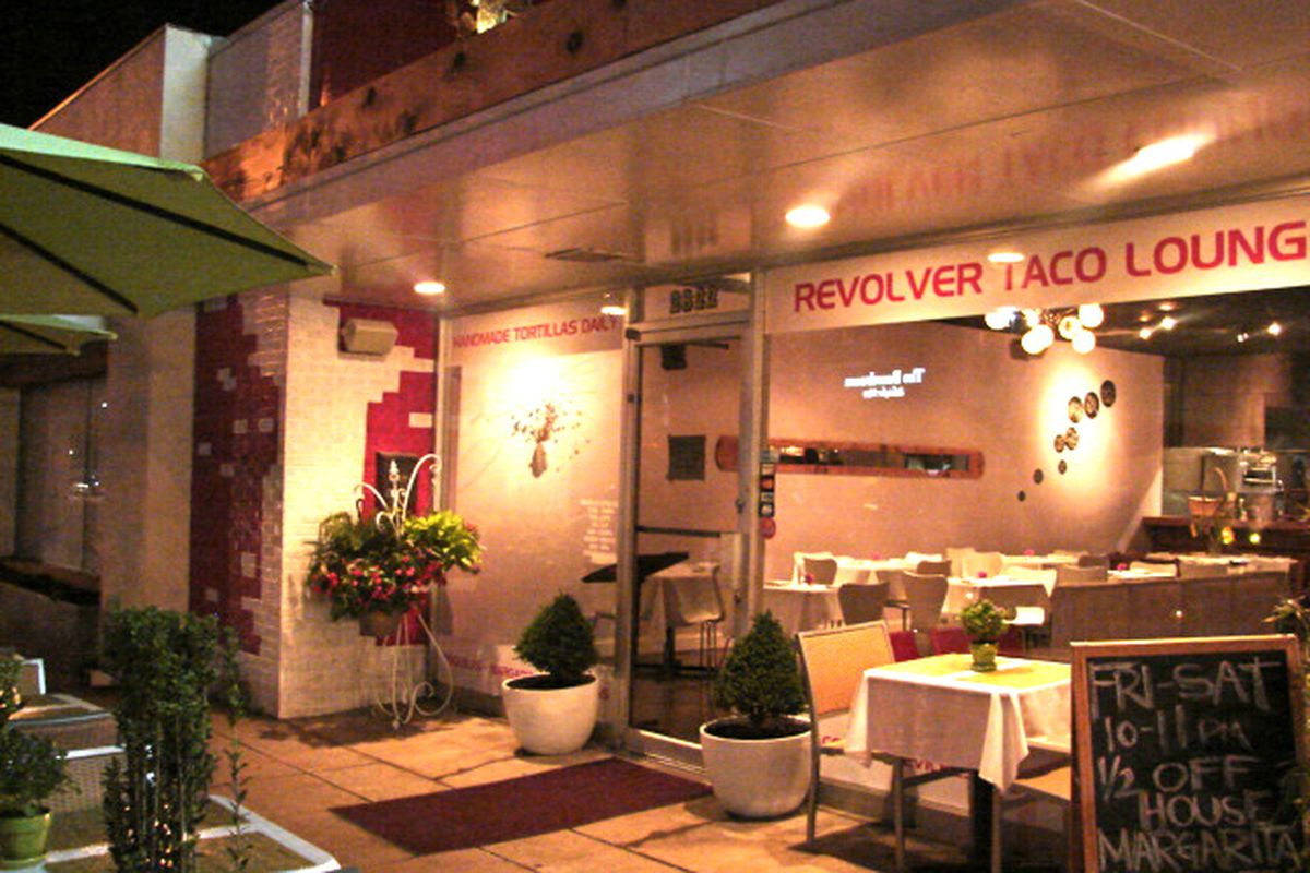Praise be – Revolver Taco Lounge is staying in Fort Worth.