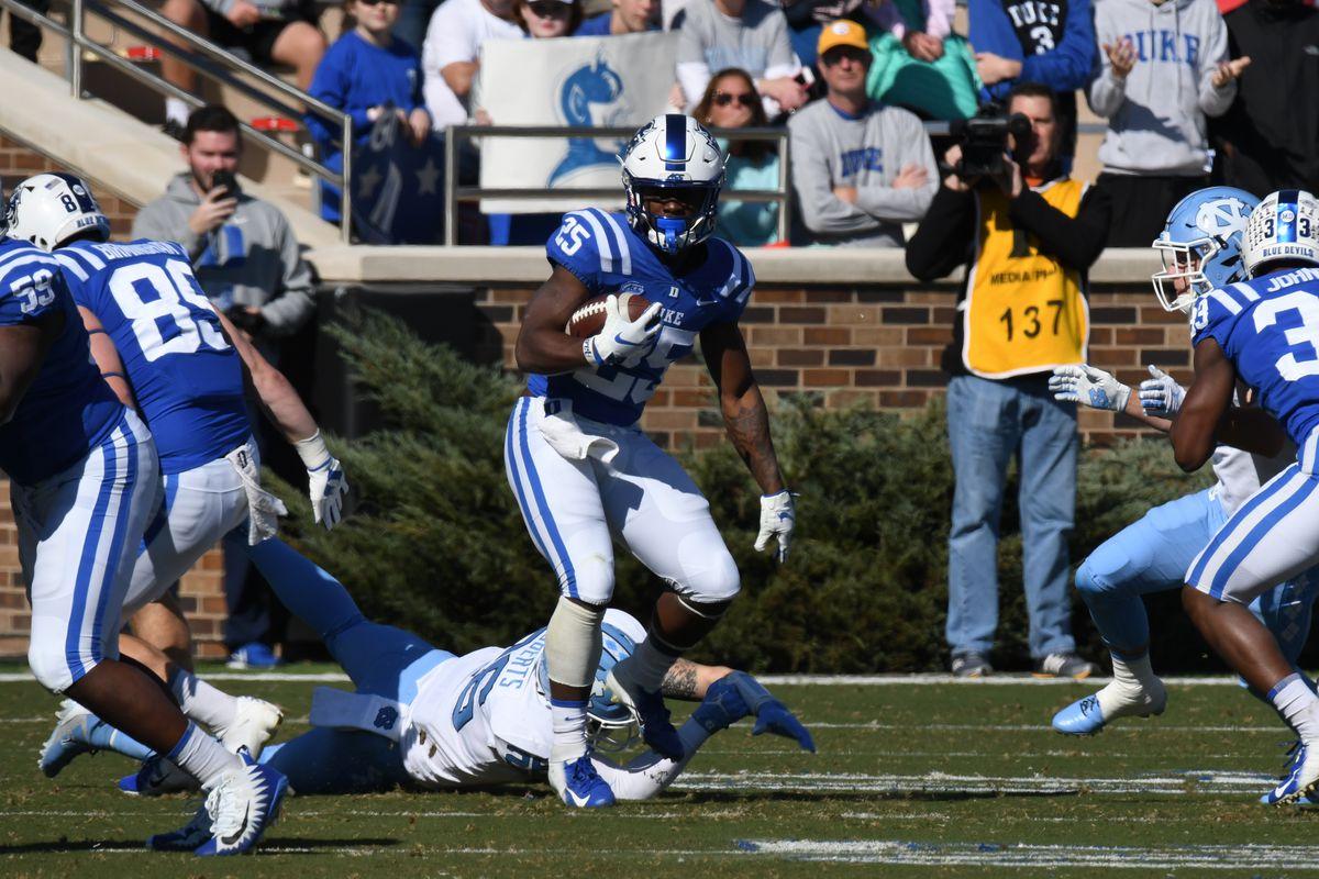 COLLEGE FOOTBALL: NOV 10 North Carolina at Duke