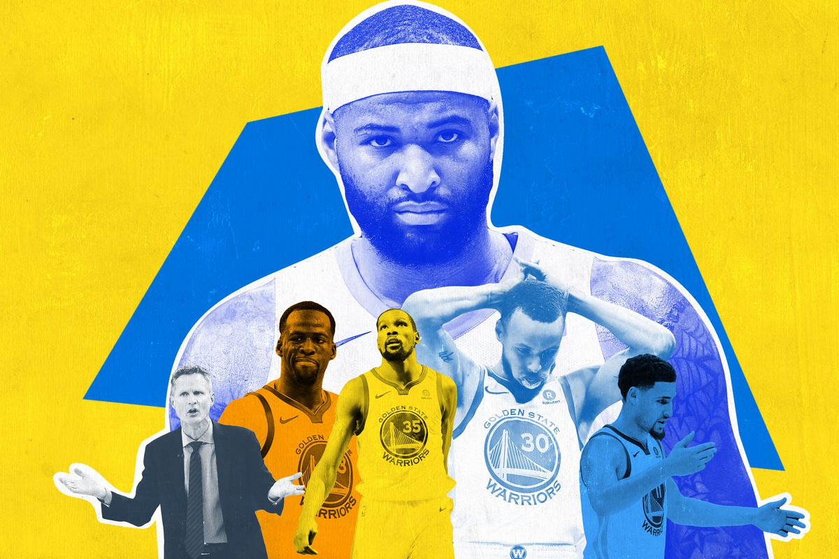 free shipping 7a04f 7d645 Are We Sure … That DeMarcus Cousins Won't Ruin the Warriors ...