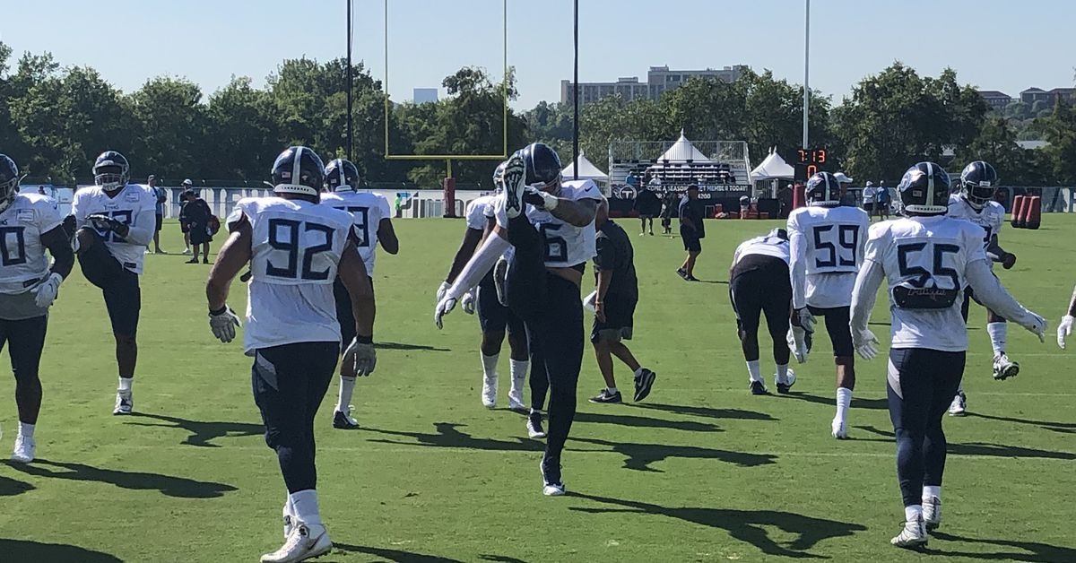 Titans Training Camp: Notes from Titans-Patriots Practice #2