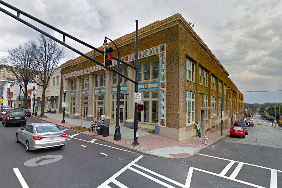 A photo of Peachtree-Pine homeless shelter in Atlanta.