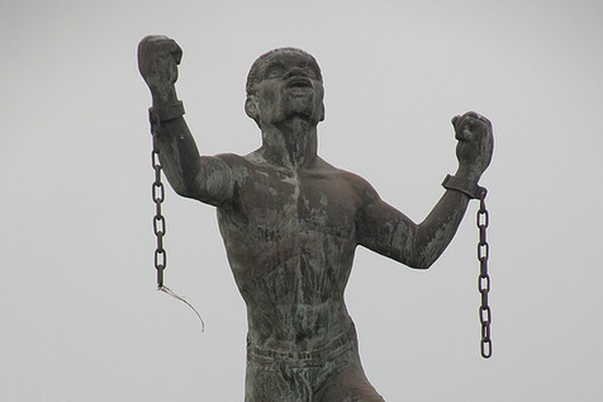 Im A Black Southerner I Had To Go Abroad To See A Statue - Artist uses banned books to create monumental sculpture against political oppression