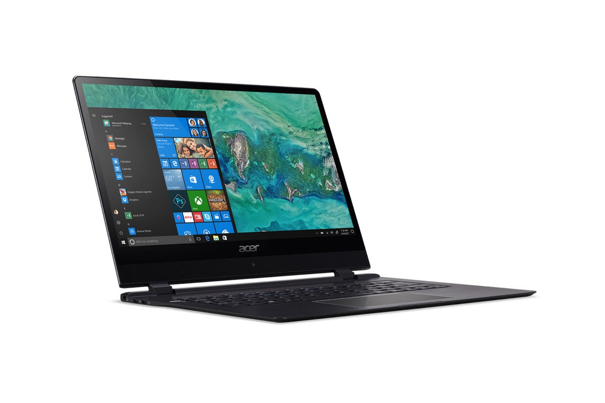 Among 4 New Laptops, Acer Introduces World's Thinnest Laptop