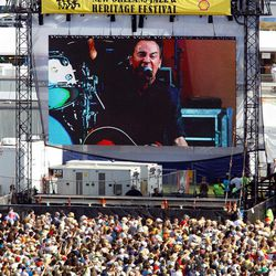 Bruce Springsteen and the E Street Band play the Acura Stage at the 2012 New Orleans Jazz and Heritage Festival presented by Shell on Sunday, April 29, 2012.