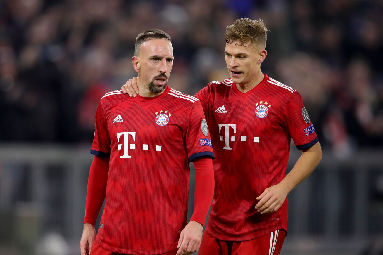 Injury update: Ribery and Kimmich given the green light after knocks vs Werder Bremen