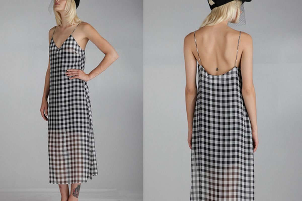 """Line &amp; Dot Elis Slip Dress, <a href=""""http://www.thelineanddot.com/RetailShop/Display_Product_Detail.aspx?ProductID=208758&amp;StyleNo=LD3342Y#"""">$119</a>."""