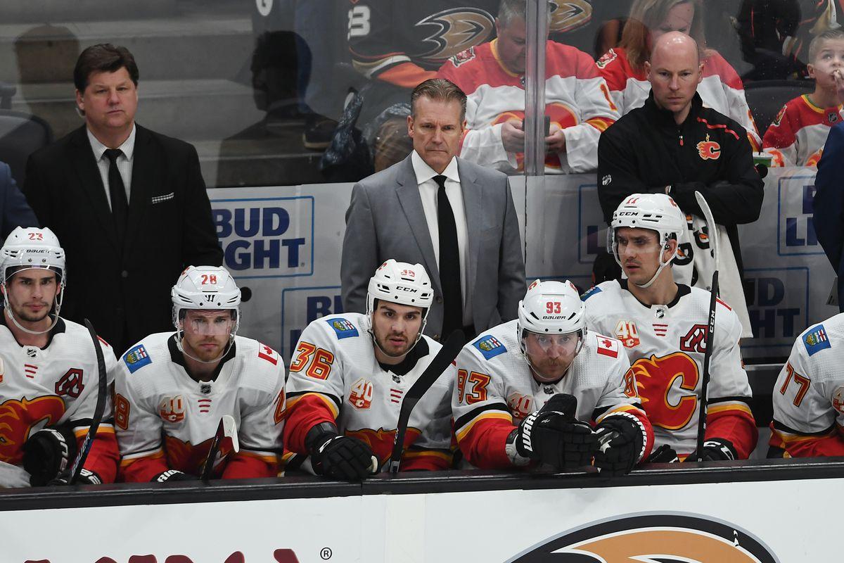 NHL: FEB 13 Flames at Ducks