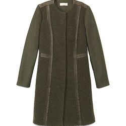 """Tory Burch 'Heather' coat, <a href=""""http://www.toryburch.com/heather-coat/33141524.html?start=10&dwvar_33141524_color=330"""">$397.50</a> (was $795)"""