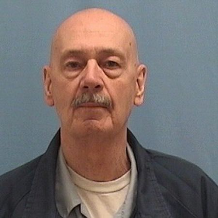 NOW: Ray Larsen in a prison photo.