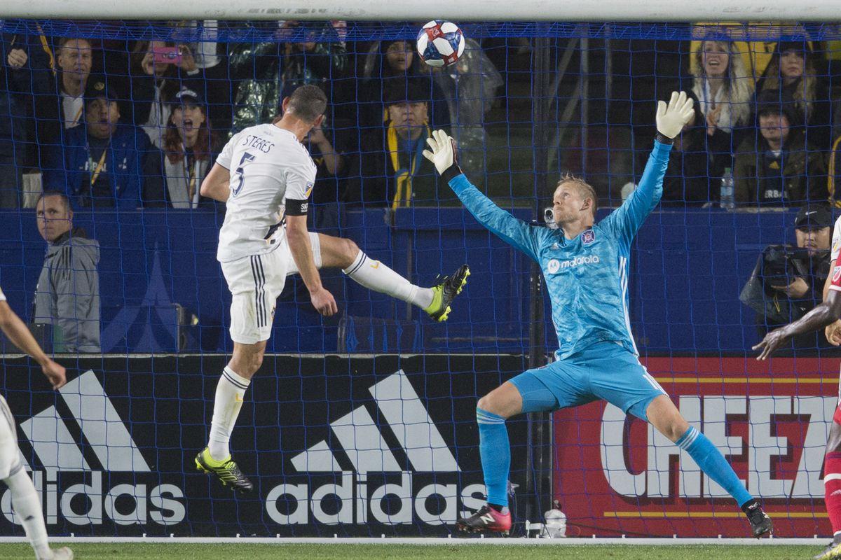 MLS: Chicago Fire at LA Galaxy