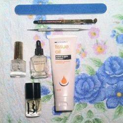 """I have a job first thing in the morning so I prep the night before. I am told that it will be a basic manicure with no color, so I pack my essentials: <b>Bernadette Thompson's</b> <a href=""""http://www.bernadettethompson.com/products-page-2/uncategorized/cu"""