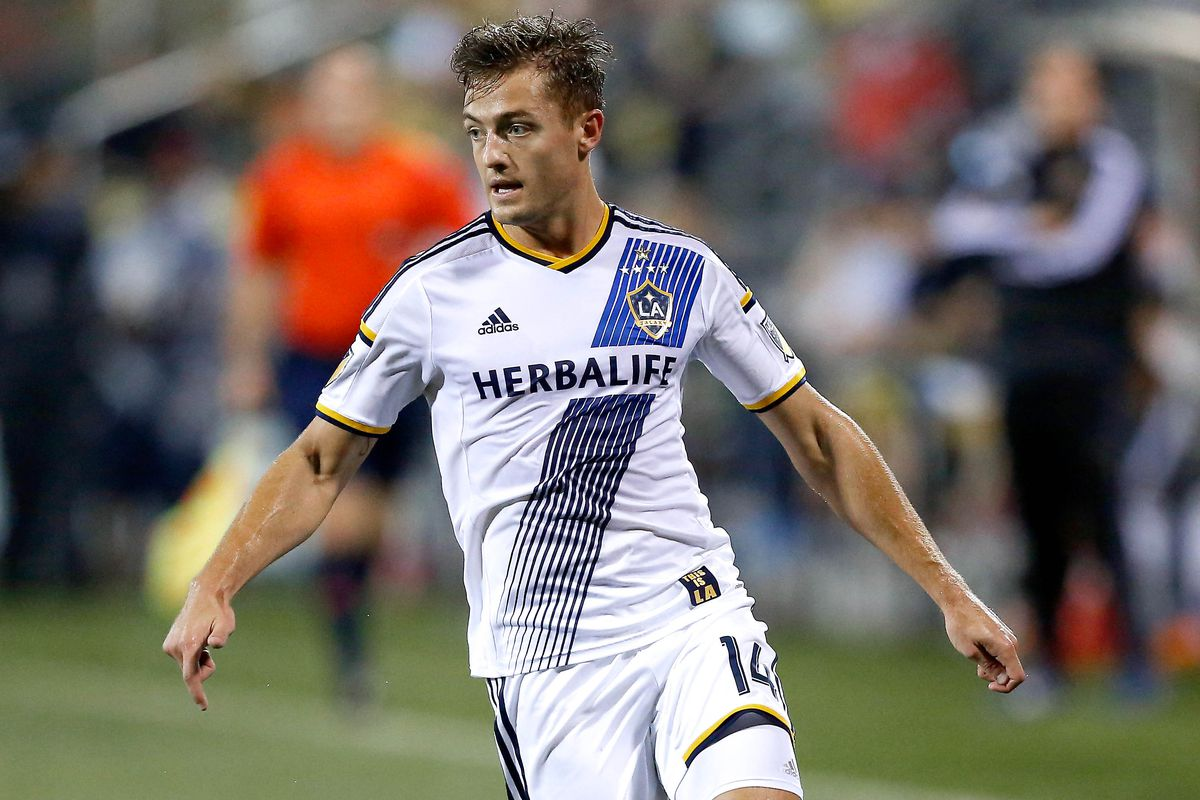 Robbie Rogers missed Saturday's game against the Dynamo because he had two yellow cards