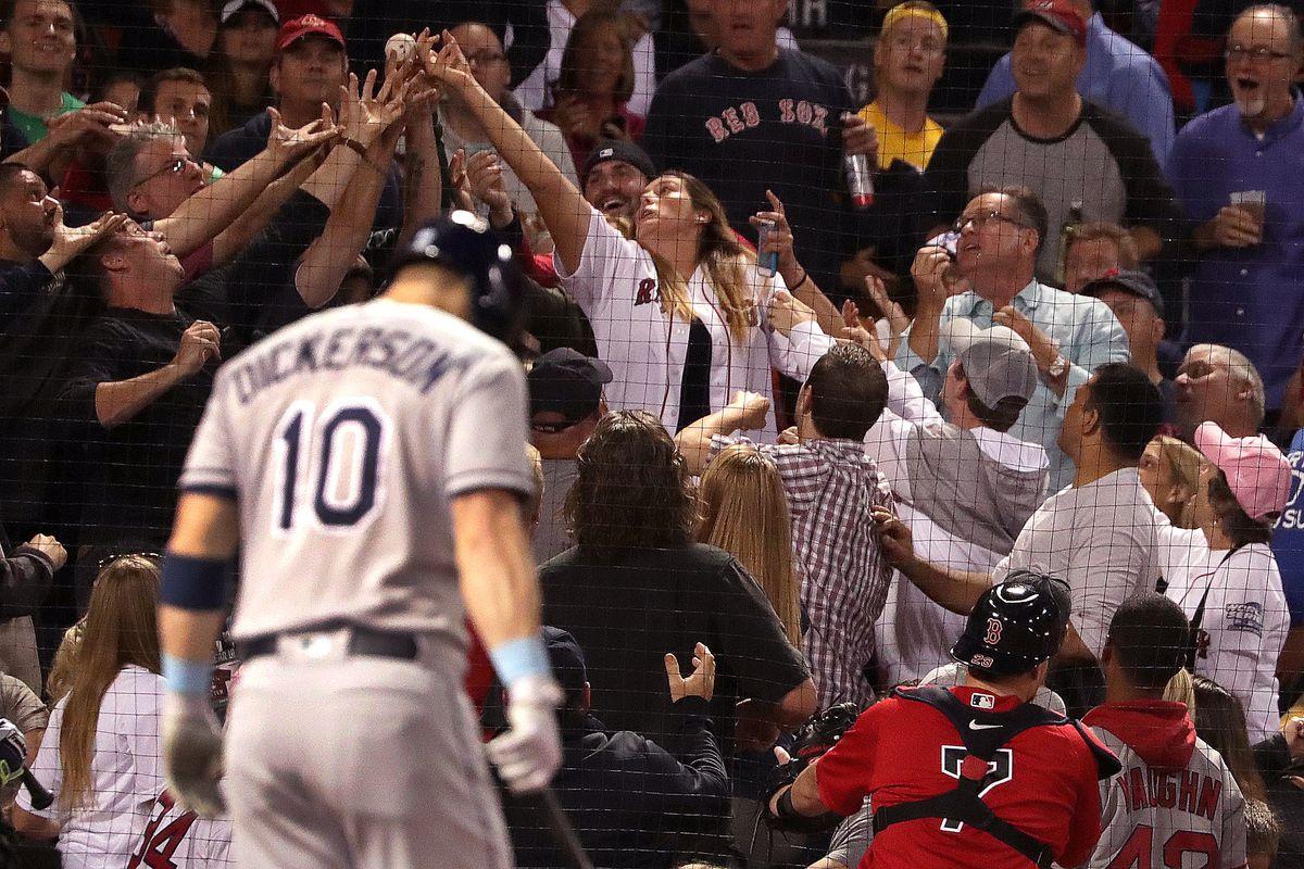 Tampa Bay Rays Vs. Boston Red Sox At Fenway Park