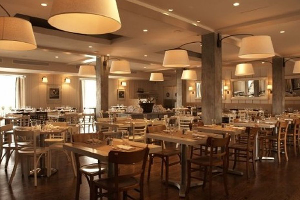 The dining room at JCT Kitchen & Bar.