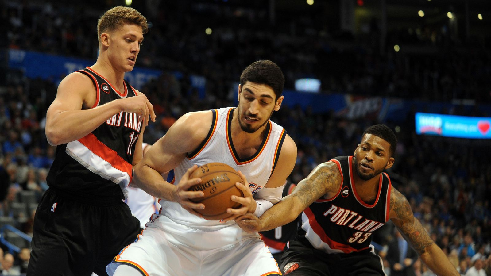 portland trail blazers to sign enes kanter to offer sheet