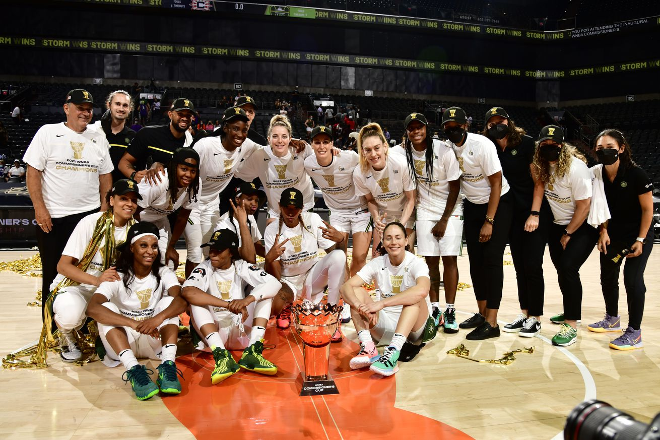 Seattle Storm v Connecticut Sun - 2021 Commissioner's Cup Championship Game