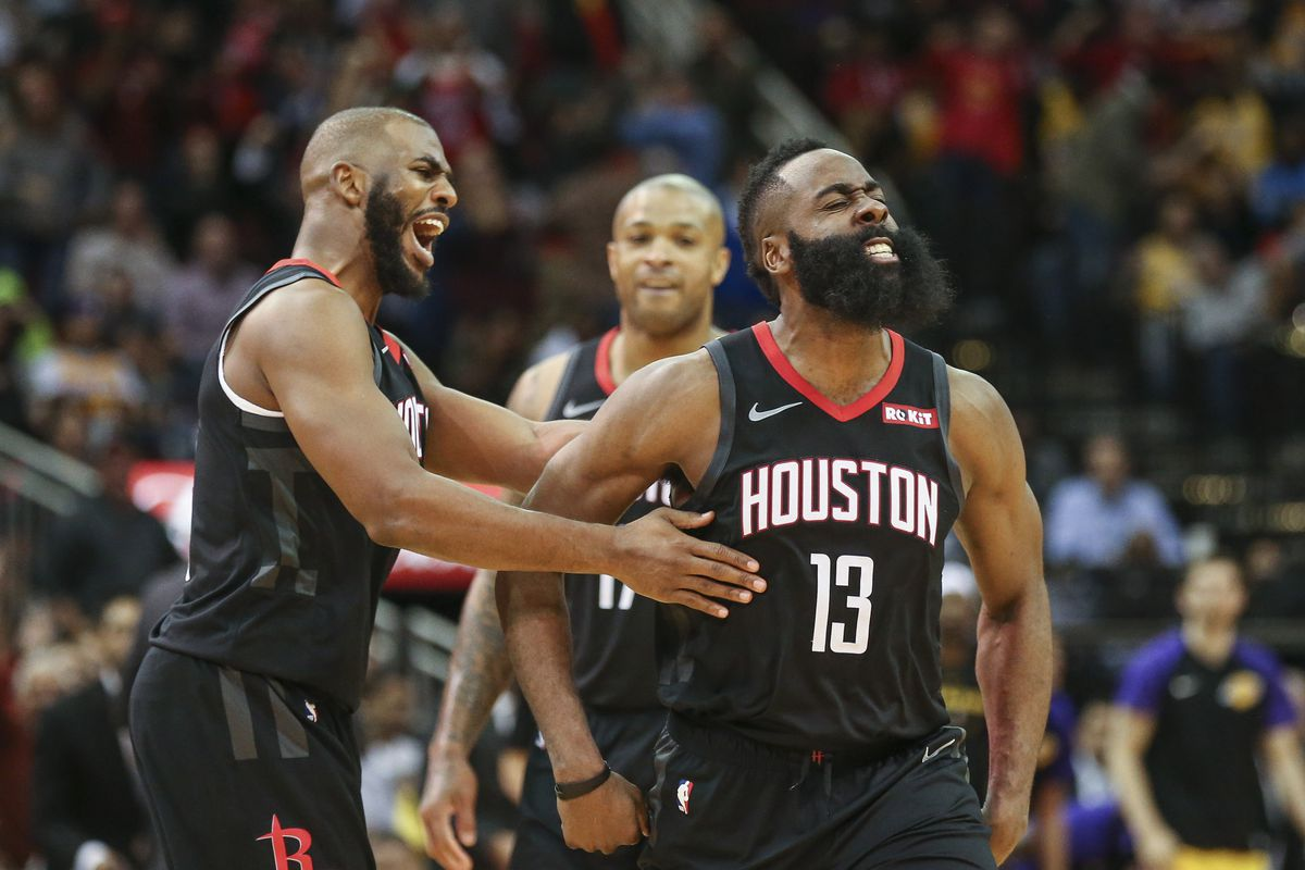 9f76a15b787e Rockets vs. Lakers  Houston and L.A. has a rivalry brewing ...