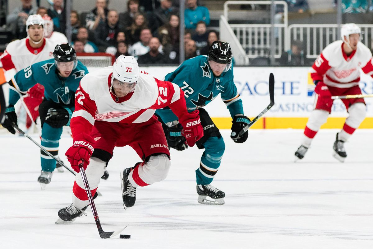 Red Wings at Sharks: Rank 'Em!
