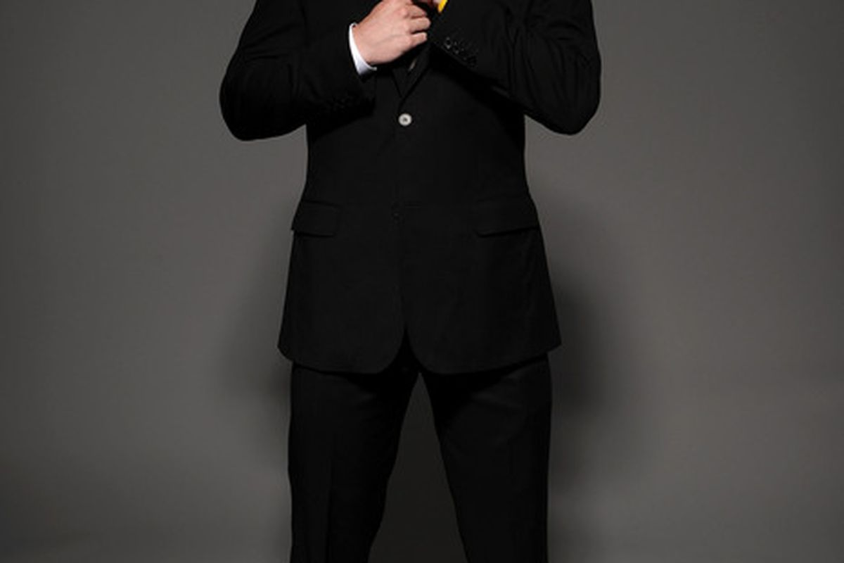 LAS VEGAS - JUNE 23:  Matt Duchene of the Colorado Avalanche poses for a portrait during the 2010 NHL Awards at the Palms Casino Resort on June 23, 2010 in Las Vegas, Nevada.  (Photo by Harry How/Getty Images)