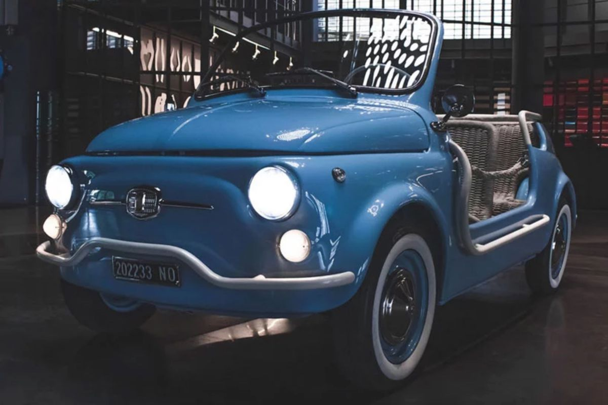 Fiat Electric Car >> Fiat 500 Jolly Goes Electric With Garage Italia Curbed
